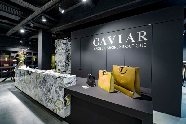 caviar boutique